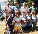Wilford and Marie Cole children pose for a group photo at the Cole Clan Reunion in 1981.