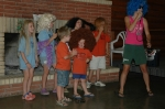Young Cole Clan members display their singing and dancing talent during the 2006 Reunion.
